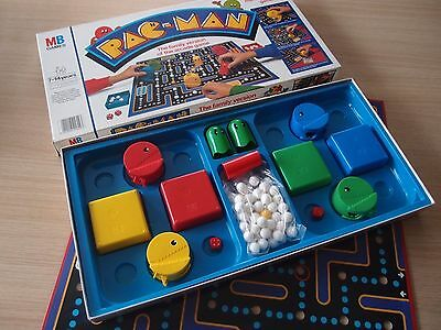 Vintage Pacman Arcade Board Game 1982 MB Complete Great Condition