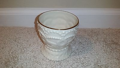 "Lenox Ivory Fine China Classic Beaded 3"" Tall Votive Candle Holder"