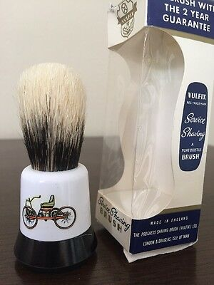 Vulfix Service No 1 Shaving Brush, Pure Badger - Unused In Box