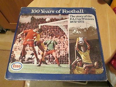F.A.CUP CENTENARY 1872-1972 Coins Medals 100 Years Football Esso