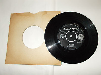 The Price/ More Rockin' Soul- Solomon Burke 7 Inch Single Atlantic 1964