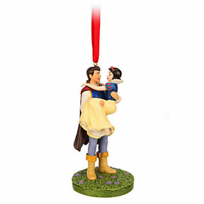 Disney Limited Edition Snow White and Prince Sketchbook Ornament 2014 NEW!