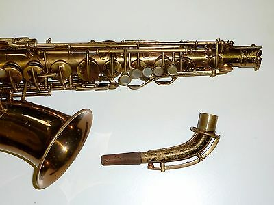 Vintage New Wonder II Conn Alto saxophone Low pitched made in USA