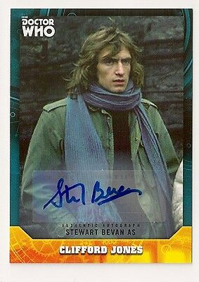 Doctor Who Signature Series Base Card #97 Clifford Jones