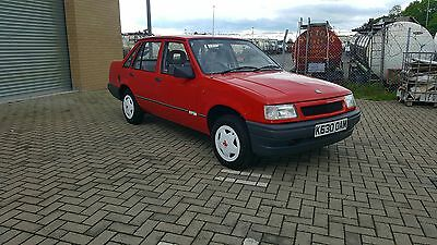 Vauxhall Nova 1.2 Spin 8104 Miles In Time Warp Condition