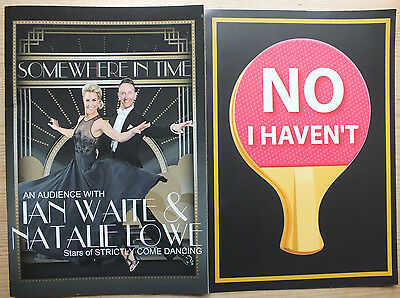 Somewhere In Time Souvenir Programme-Ian Waite Natalie Lowe-Strictly Come Dancin