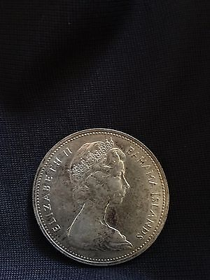 2 Dollar Elizabeth II the Bahamas 1966