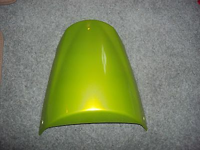 Triumph Street triple seat cowl roulette green extremely good condition