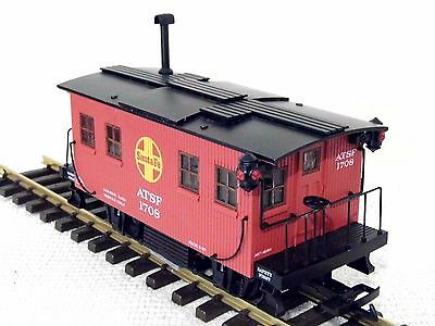 ARISTOCRAFT TRAINS `SANTE FE` -TRACK CLEANING CAR - G  Gauge- Used - Boxed