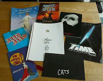 Selection of Theatre Programmes 1980's and 1990's