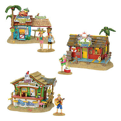 Dept 56 Margaritaville Village NEW 2017 MARGARITAVILLE SET OF 6 Jimmy Buffet