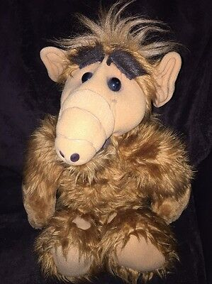 "Vintage ALF Talking Cassette Tape Plush 21"" Coleco 1986 Alien Productions WORKS!"
