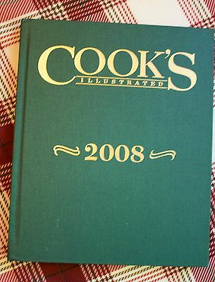 Cook's Illustrated 2008 by America's Test Kitchen (2008, Hardcover)