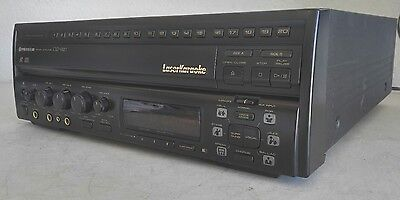 Pioneer CLD-V820 Laser Disc Karaoke/LD/CD Player - *Tested/Works* - WATCH VIDEO