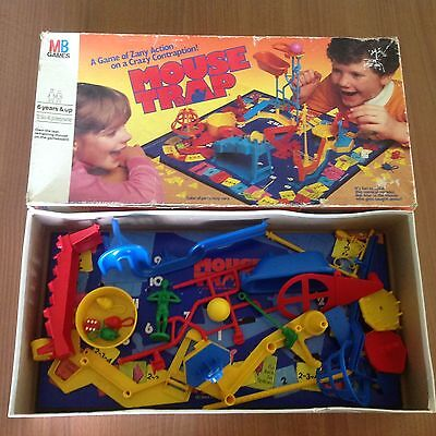 Mouse Trap Vintage  Retro Board Game Mousetrap Nc