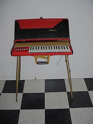 Vintage Selmer Companion Keyboard Organ Rare Italy- Works Well- Mid Century