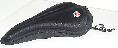 Schwinn Quality Comfort Gel Contour Pad Black Bicycle Seat Cover Used