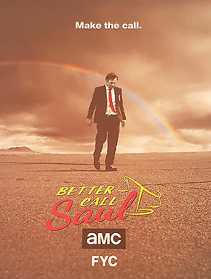 Better Call Saul (TV Series) AMC Show Bob Odenkirk AD See Pictures!