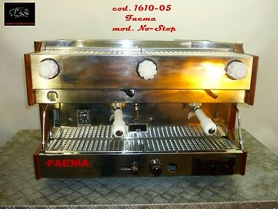 REFUBISHED VINTAGE FAEMA GAS FIRED 2 group commercial espresso machine