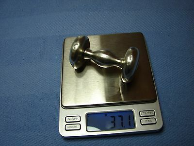 Vintage Towle 925  Sterling Silver Baby Musical Rattle  37.1 Grams