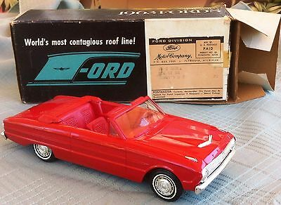 Vintage 1963 Ford Futura Convertible Promo Model In Original Box A One Owner Car