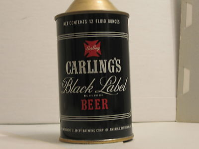 Carling Black Label Beer Cone Top Can