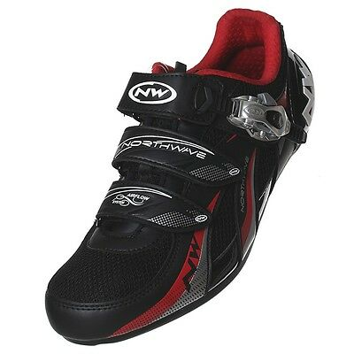Northwave Fighter SBS Road Bike Cycling Shoes 41 Black
