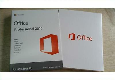Microsoft Office 2016 Professional Plus | FULL | OFFICIAL | SAME DAY DELIVERY