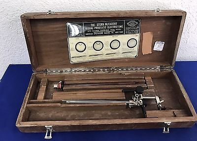 Vintage Cystoscope Makers/Stern-McCarthy Visual Prostatic Electrotome set (1C)