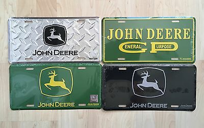 Lot Of 4 JOHN DEERE License Plate