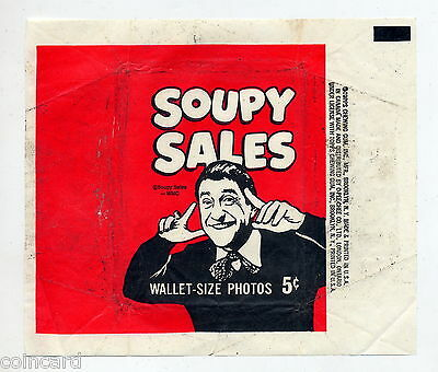 1965 Topps Soupy Sales pack Wrapper 5-Cent        LD-0327