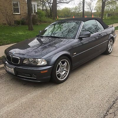 2002 BMW 3-Series 330Ci 2002 BMW 3 Series 330Ci 117000 6-Cyl 3.0L/183 Automatic Convertible