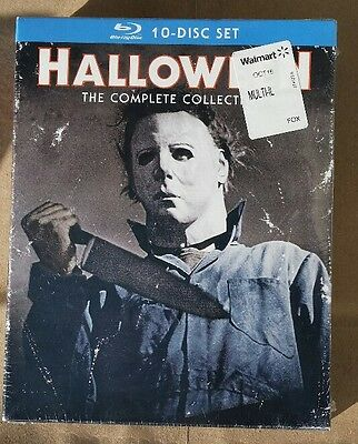 Halloween The Complete Collection Blu-ray Disc 2014 10-Disc Set Brand New Sealed