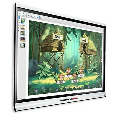 "SmartBoard Smart Board 6065 65"" LED Interactive HD 4K Flat Panel Display Crack"