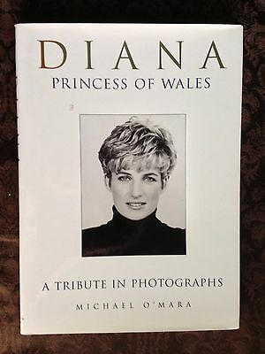 Diana Princess of Wales A Tribute In Photographs Book Michael O'Mara