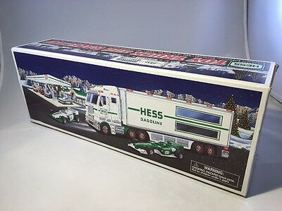 Hess Toy Truck and Racecars 2003 NEW - NIB - NEVER OPENED