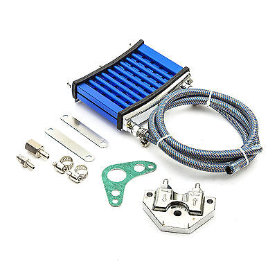 110cc 125cc 140cc OIL COOLER KIT Comes All Fittings & Pipes & Instructions