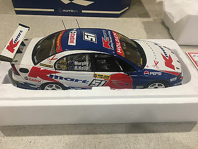 1:18 2003 BATHURST WINNER MURPHY and KELLY VY COMMODORE BIANTE