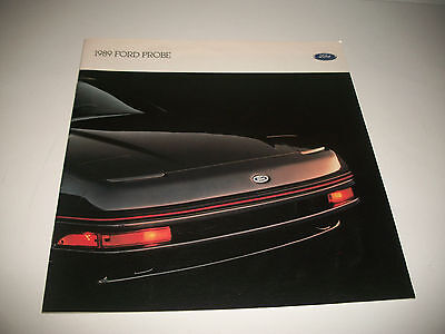 1989 Ford Probe Sales Brochure Canadian Issue Clean No Dealer Stamp