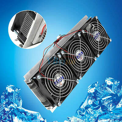 Peltier Thermoelectric Semiconductor Refrigeration Pet Air Cooling Device Cooler