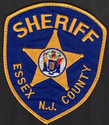 Essex County New Jersey Sheriff Shoulder Patch