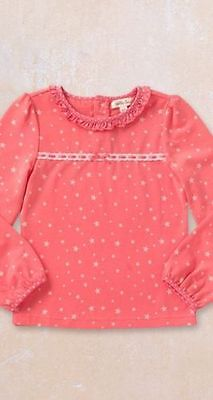 NEW Matilda Jane Friends Forever Coral Star Eisley Top size 2 4 6 8 10
