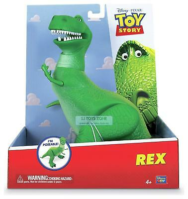 Disney Pixar Toy Story 3 Poseable 11 Inch Tall Rex the Dinosaur Toy for Kids