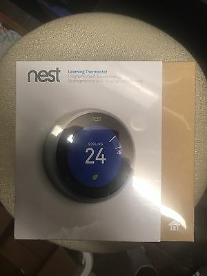 Brand New Nest Thermostat 3Rd Generation Unopened And Sealed Box