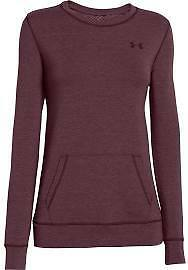 Under Armour 1264094-945 Women's Coldgear Infrared Cozy Crew - Ox Blood - XS