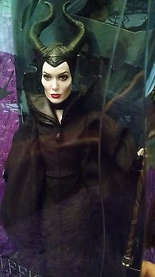 Disney Store Film Collection Maleficent Doll New Angelina Jolie