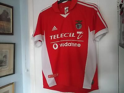 Benfica Home Football Shirt Adidas Make 40 Ins Chest