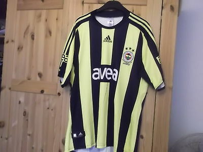Fenerbahce Home Football Shirt Large Size Adidas Make