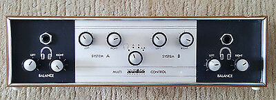 Vintage HOWLAND WEST AUDIO PRODUCTS CHANNEL MULTI CONTROL  untested