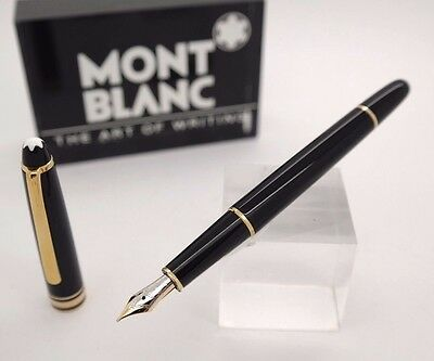 Used Fountain Pen MONTBLANC Meisterstuck nº 144 - 14k Bicolor Gold Nib